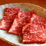 焼肉の達人 - 料理写真:和牛一撃ロース