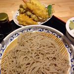 喜乃字屋 - 十割そば+5種天ぷら
