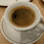 ピッツェリアバー YUME  - ランチコーヒー