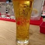 ピッツェリアバー YUME  - 生ビール