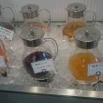 ベーカリーレストランSOLA - ジュースは色んな種類が飲み放題♪