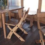 ダーシェンカ - こういう椅子がいくつかあります。