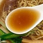 50790021 - 醤油の香りが弱いスープ