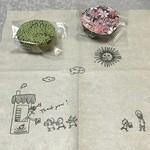 MAMANO CHOCOLATE - 可愛い紙ナプキン♪