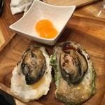 活蟹とシャンパン 牡蠣ベロ -