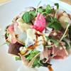 カピターノ - 料理写真:ランチの生ハムサラダ。