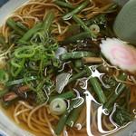 50799155 - 山菜そば@700円