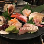 ボンゴレROSSO - 貝・魚 お造り盛り合わせ
