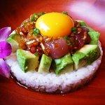 ハナホウ - 料理写真:アヒポキ丼