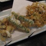 梅玉 - 野菜天ぷら