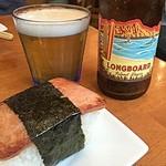 麺屋 Hulu-lu - スパムおにぎりをアテにHawaiian Beer