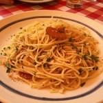 ピッツェリア ラ・ロカンダ・デル・ピットーレ - イタリア産カラスミのスパゲッティ