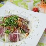 カフェ ド マンマ - 特製ローストビーフ丼