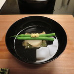Sekiyou - 初茄子と鮑の椀物