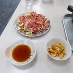 赤のれん - バラ焼定食