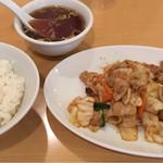 中華ミッキー - 回鍋肉セット