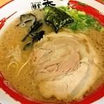 麺堂 香 - とんこつラーメン