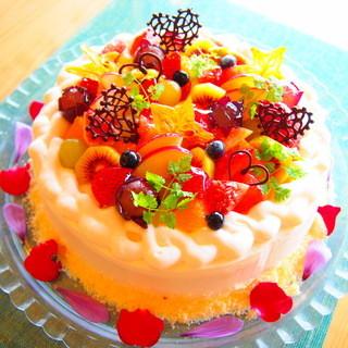 カフェタイムにピッタリ♪自家製ケーキ
