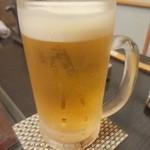 魚・食・笑 ちょうど - 生ビール