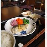 やさい食堂 七福 - さわらの柚子味噌焼き