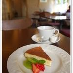 やさい食堂 七福 - おからのベイクドチーズケーキ