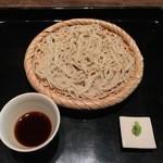 一如庵 - 1枚目はもりそば(鰹出汁)