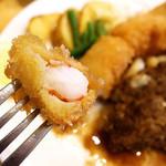 洋食のまなべ - 海老フライぷりぷり~ (>_<)