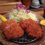 富士喜 - 厚切りヒレカツ 1,880円