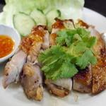 50808731 - タイの焼き鳥、甘辛ダレで美味しい