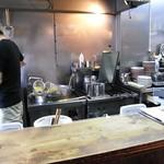 麺工房しろきや - 麺茹では、今流簡易テボ