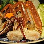 Power Dish 松五郎 - 料理写真:松五郎特選コース カニすき鍋