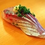 福寿司 - 料理写真:鯵