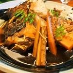 福寿司 - 鯛アラ炊き