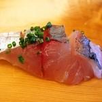 福寿司 - 鯵