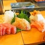 福寿司 - お造り盛り合わせ