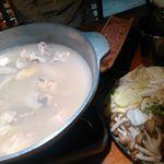 鳥元 - 伊達鶏の水炊き