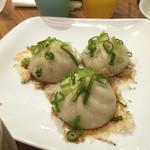 皇蘭  - 焼き小龍包三個(¥500)