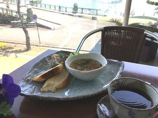 和歌の浦カフェ マーレライ - スープモーニング