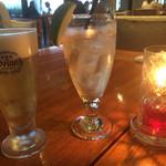 Wine & Dining The Orange - 生ビールとジンジャーエール