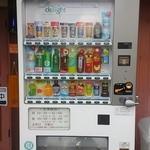 麺屋 匠堂 - 店頭の「こちらの自販機で購入した商品のみ店内持ち込み可」とのこと。