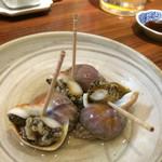えびでん - つぶ貝のうま煮