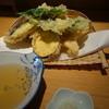 十割りそば 一久 - 料理写真:山菜天ぷら・ハーフサイズ