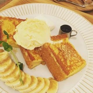 こもれび食堂+ - 豆乳フレンチトースト