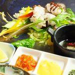 yaki yaki dining Satomi  - たこ塩焼き