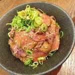 イートミート アット フランダーステイル - ローストビーフ丼(肉大)1150円♪
