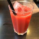 100時間カレー B&R - ブラッドオレンジジュース