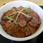 飯処にっくん - 炭火ホエー豚丼…小盛り 肉150g・ご飯300g・