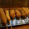 串のひげ家 - 料理写真:串カツ全品100円