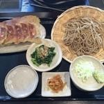 Kachoufuugetsu - 相方の蕎麦セット 1080円