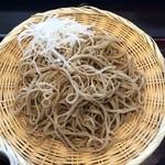 Kachoufuugetsu - 私のお蕎麦にはなぜか大根が・・・